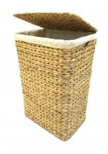Weave & Woven Laundry Hamper Basket (Natural)