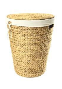 Weave & Woven Sweeter Round Laundry Basket (Natural)