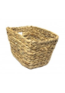 Weave & Woven Rectangular Basket (Natural)
