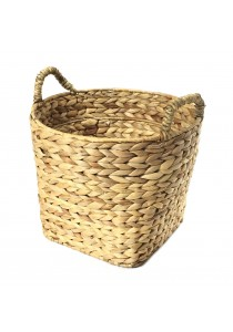 Weave & Woven Round Basket (Natural)