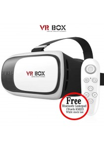 VR Box II 2nd Generation Virtual Reality 3D Glasses Headset - VRBOX Gear Version 2 [Free ALL Accessory]