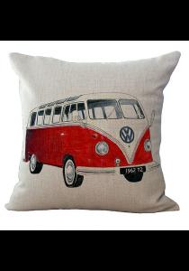 Pillow Case / Cushion Cover - Vintage Van