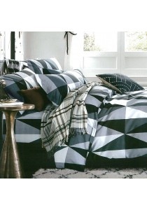 Cozzi 400TC Microfiber Plush Fitted Bedsheet set + Comforter VENUS - SUPER SINGLE