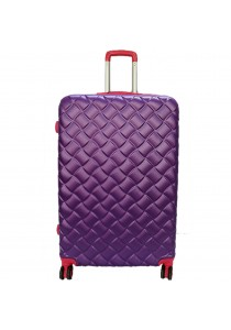 Waterpolo WA1493 - 28 inch ABS Suitcase Trolley (Purple/Pink)