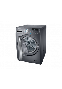 SAMSUNG WD14F5K5ASG Front Load Combo with Eco Bubble, 14kg wash & 7kg dry