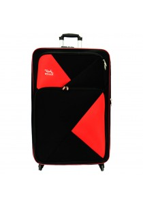 W.Polo 28 inch 4 Wheels EVA Trolley Case- WE1680 (Black/Red)