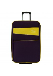 W.Polo 24 inch 2 Wheels EVA Trolley Case- WE1864 (Purple/Yellow)