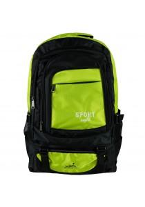 W.POLO 21 Inch WH9636 Hiking Backpack - Black/Green
