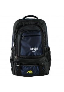 W.POLO 21 Inch WH9636 Hiking Backpack - Black/Navy