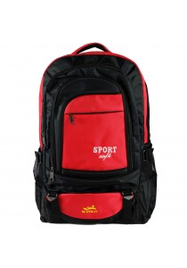W.POLO 21 Inch WH9636 Hiking Backpack - Black/Red