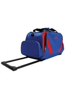 New arrival Waterpolo WT1693R Trolley Travelling Duffel/Sport Bag (Blue/Red)