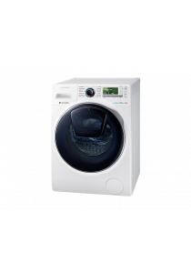 SAMSUNG WW12K8412OW Front Load Washer with Add Wash, 12 kg