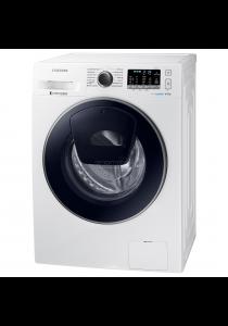 SAMSUNG WW80K5210UW Front Load Washer with Add Wash, 8KG(White)