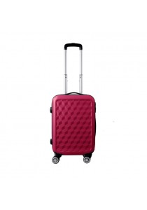 ABS Protector Water Cube Trolley Case Luggage Bag 20'' inch