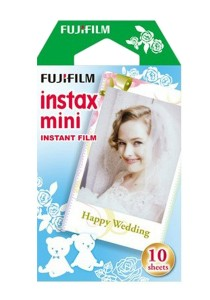 Fujifilm Instax Mini Instant Film (Weddingy) 10 Pcs