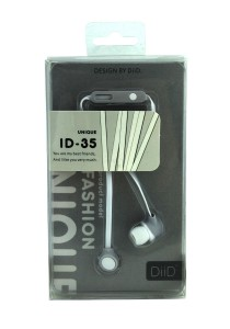 DIID Stereo Headphone Earphone Headset With MIC ID-35 (White)