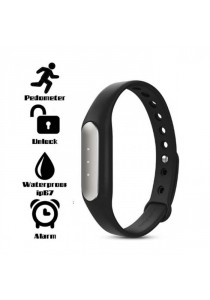 (Import) Xiaomi Mi Band Smart Bracelet for Xiaomi / IOS / Android System 4.4 Above - Black