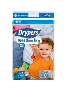 Wee Wee Drypers Diaper XL50