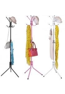 12 Hooks Standing Clothes Hanger
