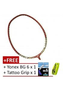 [100% Authentic] Yonex Nanoray 7 Ahsan ( FREE Yonex BG 6 + Tattoo Grip )