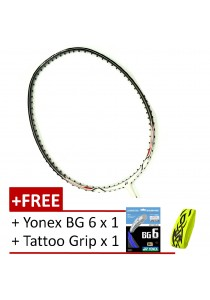 [100% Authentic] Yonex Nanoray 7 Setiawan  (FREE Yonex BG 6 + Tattoo Grip )