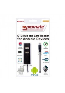 Promate - Prolink OTG Hub and Card Reader for Android Devices