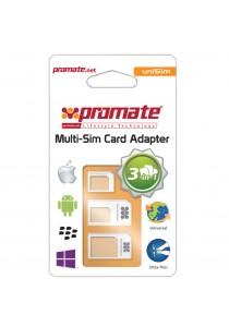Promate - Unisim Universal 4 in 1 Sim Card Adapter Kit