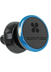 Promate Premium Vent Car Holder Universal Anti Slip Air Vent Mount - Blue