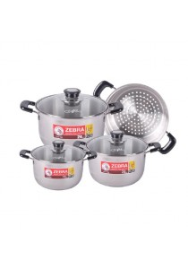 ZEBRA 7pcs Cookware Set - Wisdom