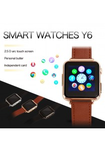 Y6 Camera Bluetooth Smart Watch Support Sim Card TF Card For Android IOS