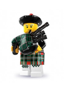 LEGO MINIFIGURE Series 7-6 Bagpiper