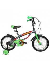 "Asogo A1516586-BC 16"" Kids Bmx Bike (Grey)"
