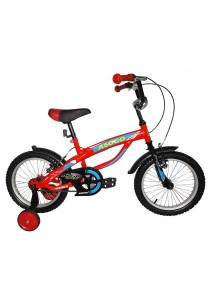 "Asogo A1516586-BC 16"" Kids Bmx Bike (Red)"