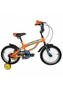 "Asogo A1516586-BC 16"" Kids Bmx Bike (Orange)"