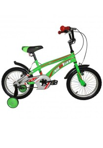 "Asogo A1516587-BC 16"" Kids Bmx Bike (Green)"