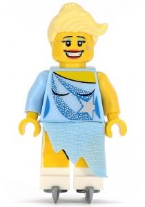 LEGO MINIFIGURE Series 4-15 Ice Skater