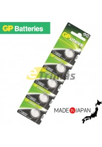 5pcs CR2032 Genuine GP Batteries Lithium Cell Electronic Device