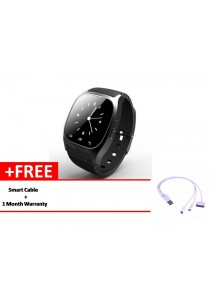 Bluetooth MT6260 Smart Watch (Black)