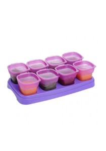 Autumnz Breastmilk and Baby Food Storage Cups 2oz  Plum