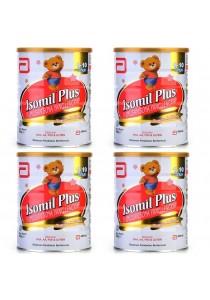 Abbott Isomil Plus New Milk Powder Formula (1-10 years) 850g (4 tin)
