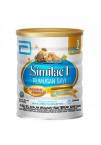 Abbott Similac 1 Rumusan Bayi Advance Formula DHA & Lutein Step 1 (0-12month) 900g
