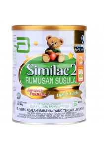 Abbott Similac Rumusan Susulan Advance formula DHA & Lutein Step 2 (6-12month) 900g