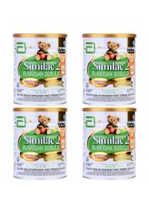 Abbott Similac Rumusan Susulan Advance formula DHA & Lutein Step 2 (6-12month) 900g (4 Tin)