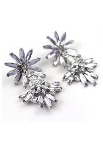 Artemis Clover Diamond Earrings