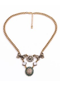 Vintage Ethnic Statement Necklace