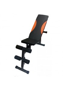 Lexcon Adjustable Sit Up Bench + Weight Bench (O)