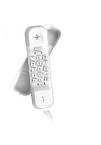 Alcatel Ultra-Compact Slim Phone T16 - White