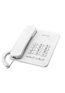 Alcatel T20EX Residential Basic Single Line Phone - White