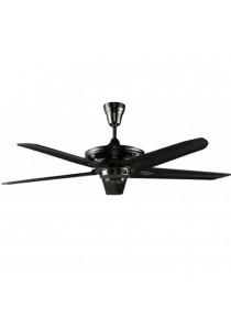 """ALPHA AF205B/56 Ceiling Fan Remote 5 Blades 56"""" (Black)"""