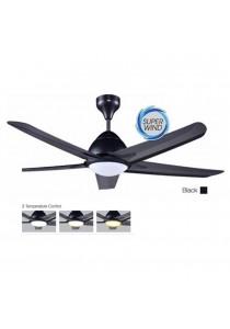 """ALPHA AF20LED5B/42 Ceiling Fan Remote with LED Light 5 Blades 42"""" (White)"""